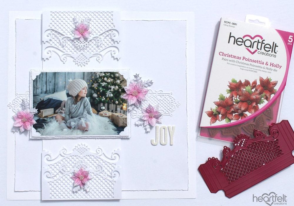 Create a Christmas Layout the quick & EZ way! - Heartfelt Creations