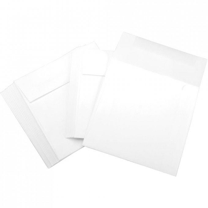 6 x 6 Envelopes - 25 Pack