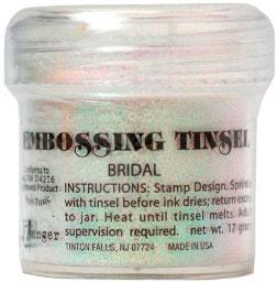 Embossing Tinsel - Bridal
