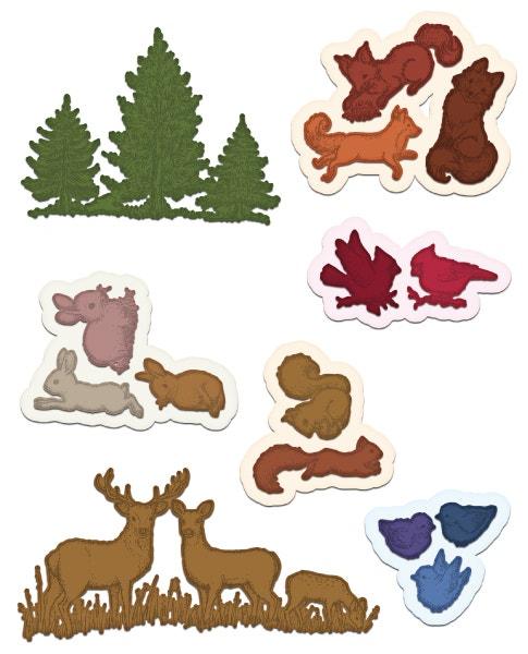 Woodsy Critters Die