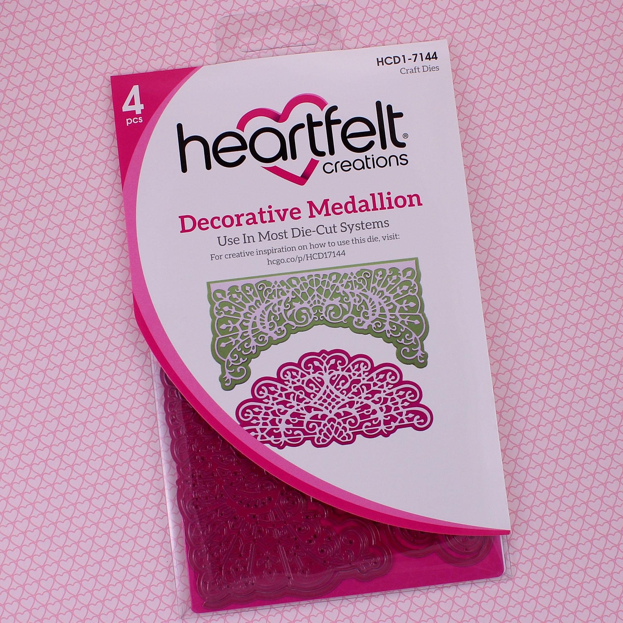 Decorative Medallion Die