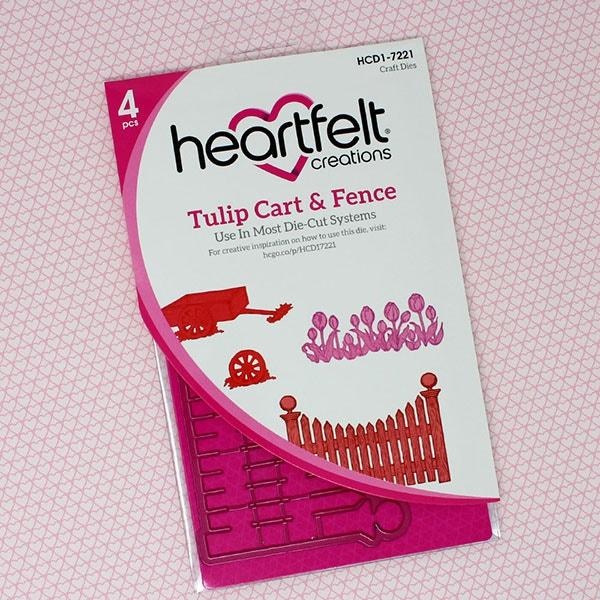 Tulip Cart & Fence Die