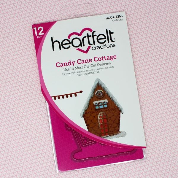 Candy Cane Cottage Die