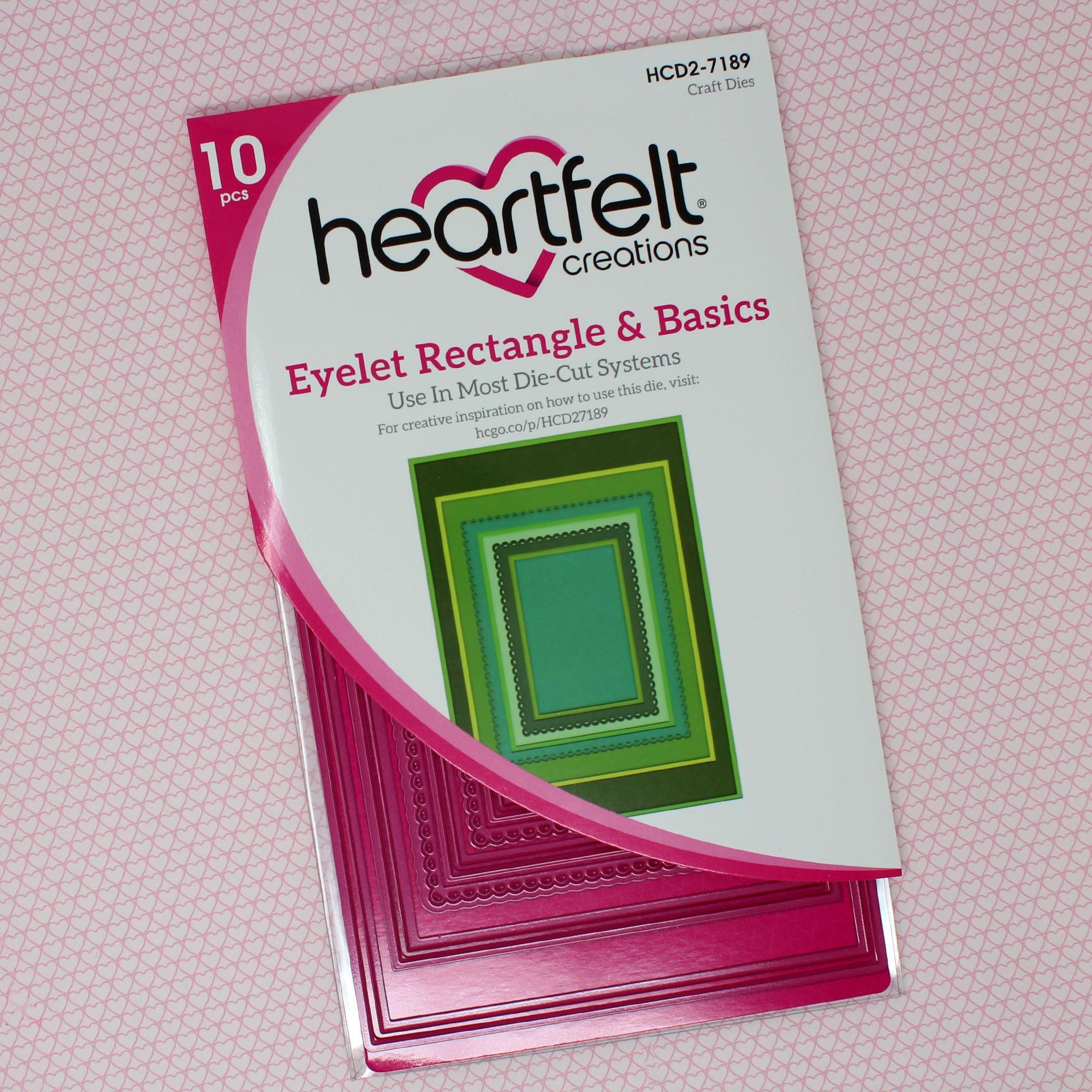 Eyelet Rectangle & Basics Die