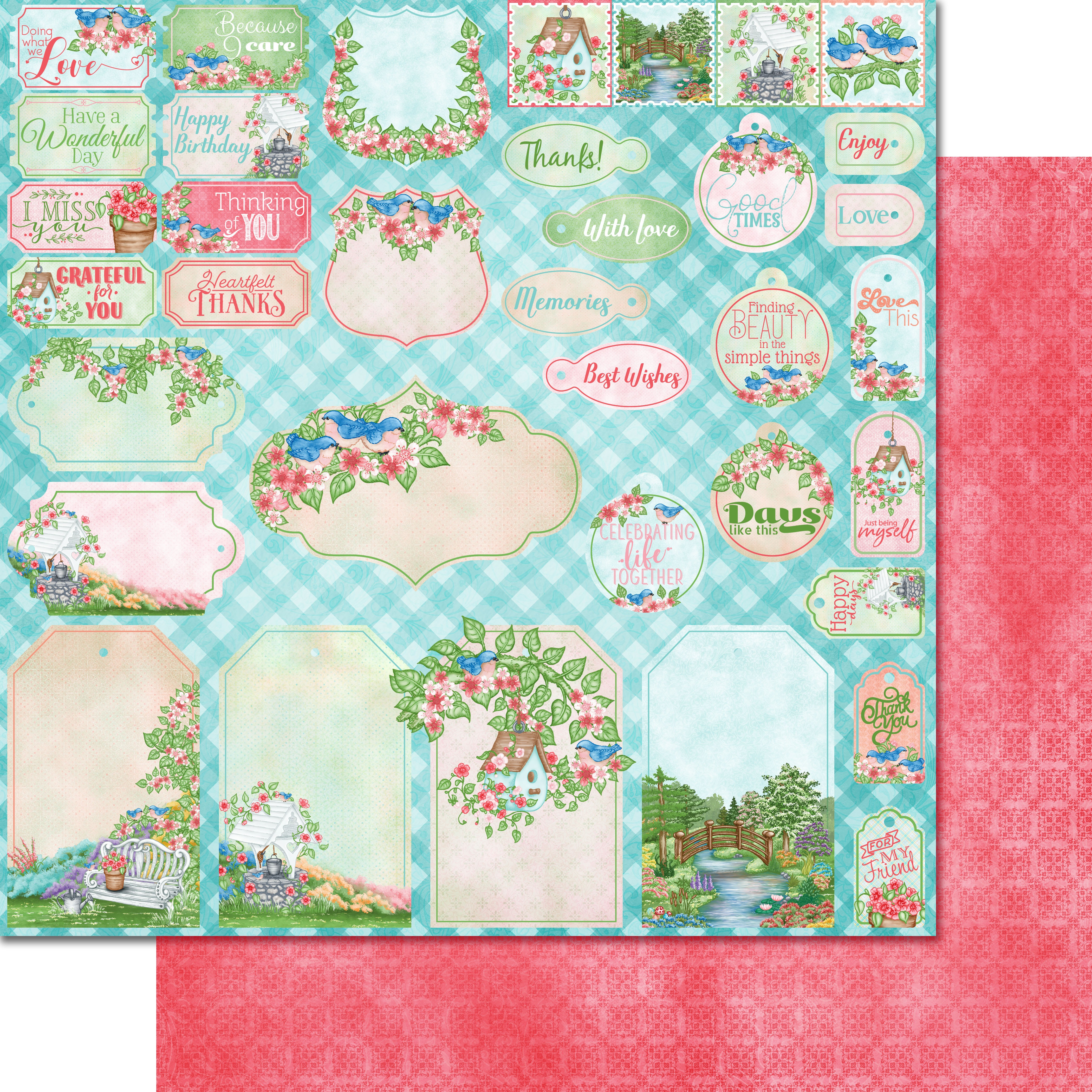 Cherry Blossom Retreat Paper Collection