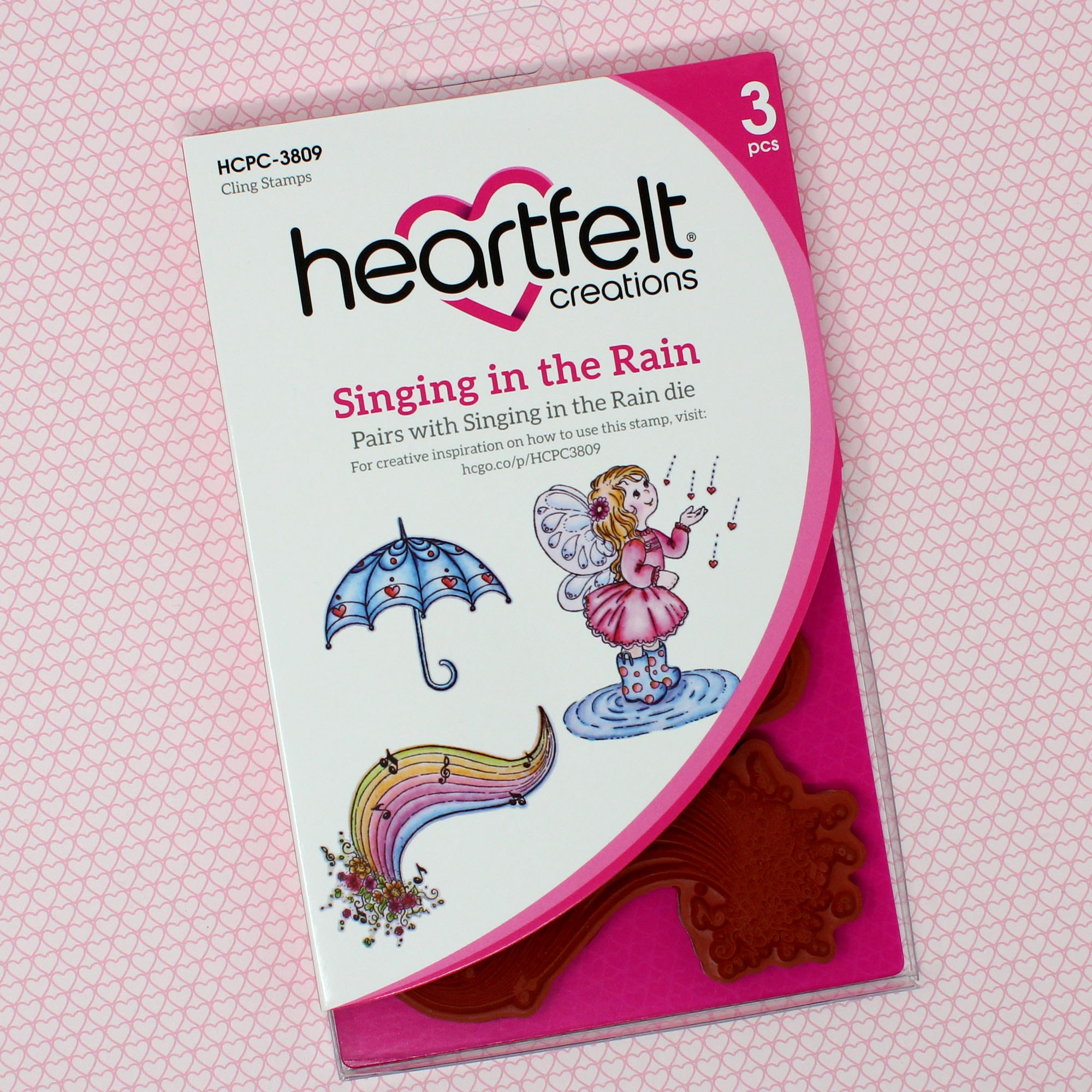 Singing in the Rain Cling Stamp Set