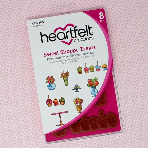Sweet Shoppe Treats Cling Stamp Set