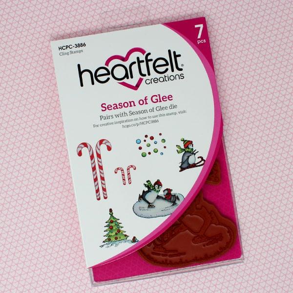 Season of Glee Cling Stamp Set