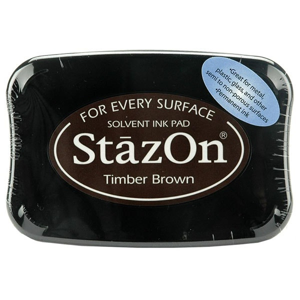 StazOn Ink Pad - Timber Brown
