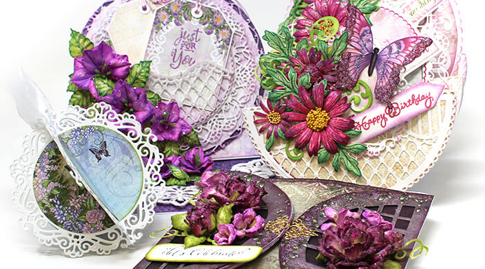 15 Versatile Ways to use Window Dies with Circle Fold Cards