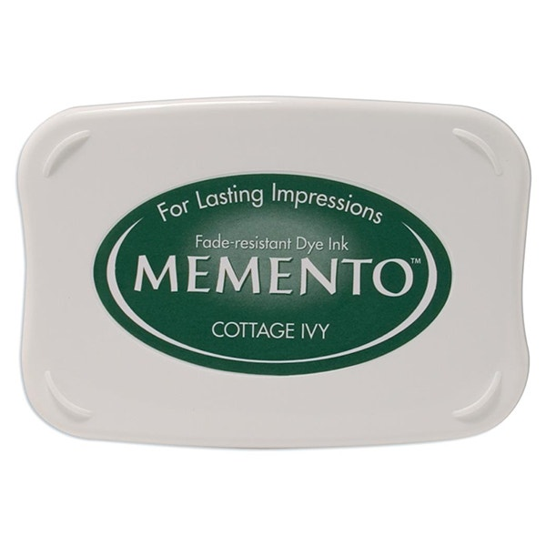 Memento Dye Ink Pad - Cottage Ivy