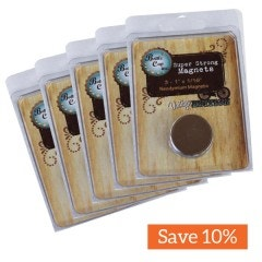 Bottle Cap Inc Vintage Magnets 1 Inch - 15 Pack