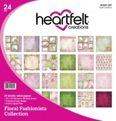 Floral Fashionista Paper Collection