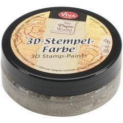 Silver-Gold 3D Stamp Paint