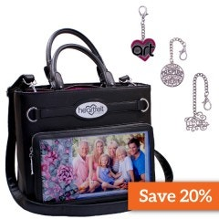 Black Friday Handbag-Black and Charms Bundle