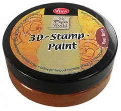 Copper 3D Stamp Paint