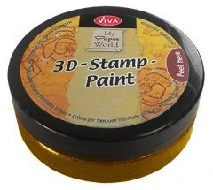 Gold 3D Stamp Paint