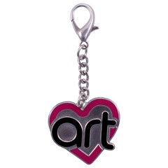 Art from the Heart Charm