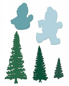 Frolicking Frosty and Spruce Die