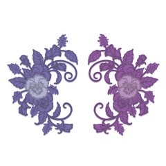 Delicate Pansy Spray Die