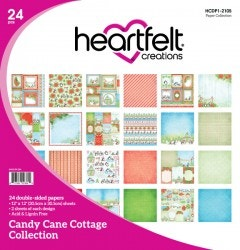 Candy Cane Cottage Paper Collection
