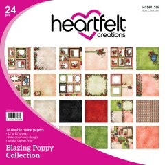 Blazing Poppy Paper Collection