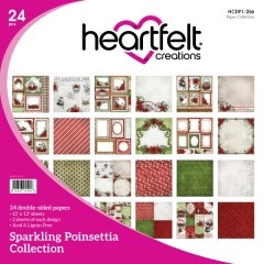Sparkling Poinsettia Paper Collection