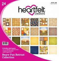 Beary Fun Retreat Paper Collection