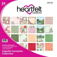 Camelia Carnation Paper Collection