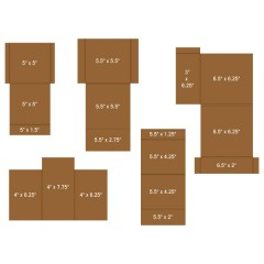 Pocket and Flipfold Inserts C - Kraft