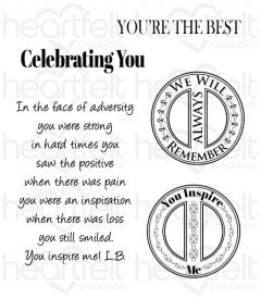 You Inspire Me Cling Stamp Set