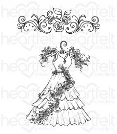 All Dressed Up Cling Stamp Set