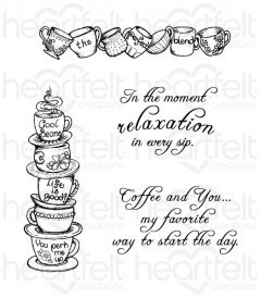 All Stacked Up Cling Stamp Set