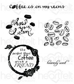 The Perfect Blend Cling Stamp Set
