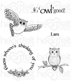It's Owl Good Cling Stamp Set