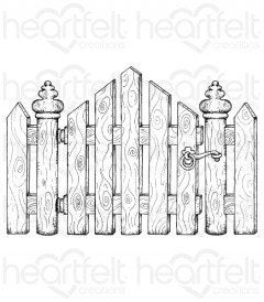 Festive Gate Cling Stamp Set