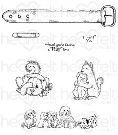 Pampered Pooch Pals Cling Stamp Set