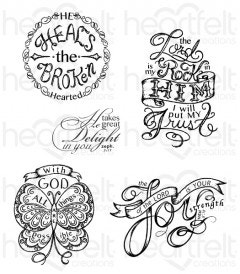 All Things are Possible Cling Stamp Set
