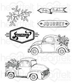 Simply Classic Cling Stamp Set