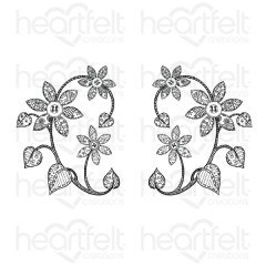 Patchwork Daisy Cling Stamp Set