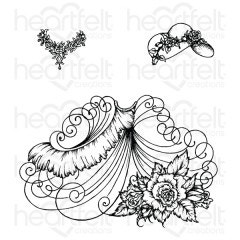 Elements of Fashion Cling Stamp Set