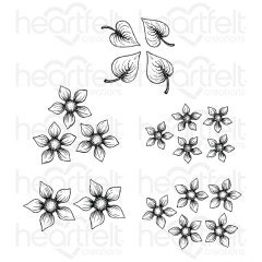Purr-fect Posies Cling Stamp Set
