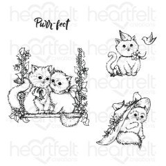 Purr-fect Playdate Cling Stamp Set