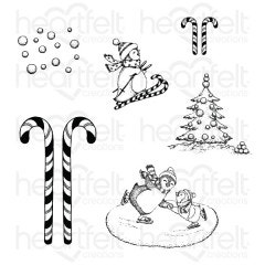 Season of Glee Cling Stamp Set