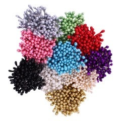 Assorted Pearl Stamens-Small