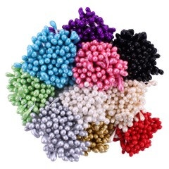 Assorted Pearl Stamens-Medium
