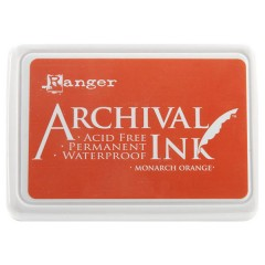 Ranger Archival Ink Pad - Monarch Orange