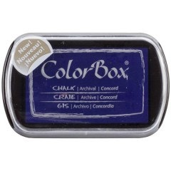 ColorBox Fluid Chalk Ink Pad - Concord