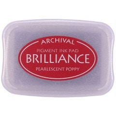 Brilliance Ink - Pearlescent Poppy