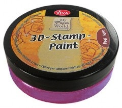 Rose Metallic 3D Stamp Paint
